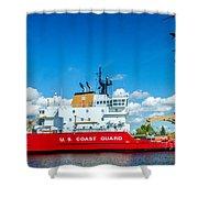 Coast Guard Cutter Mackinaw Shower Curtain