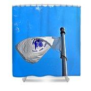 Coast Guard Flag Shower Curtain