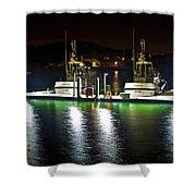 Coast Guard Fort Baker Shower Curtain