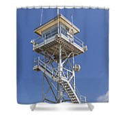 Coast Guard Tower Shower Curtain
