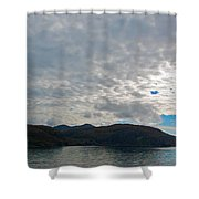 Coast N Clouds 1 Shower Curtain