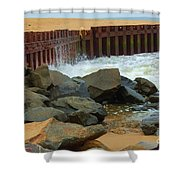 Coast Of Carolina Shower Curtain