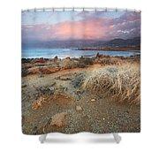 coast of Crete 'I Shower Curtain