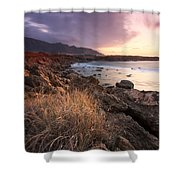coast of Crete 'IV Shower Curtain