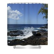 Coast Of Kauai Shower Curtain