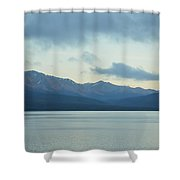 Coast Ranges In Alaska Shower Curtain