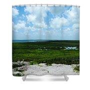 Coastal Aransas Nwr Shower Curtain