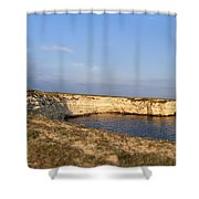 Coastal Area On Crimea Ukraine. Shower Curtain