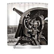 Coastal Artillery Shower Curtain