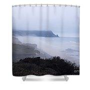 Coastal Atmosphere Shower Curtain