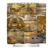 Coastal Connections Shower Curtain