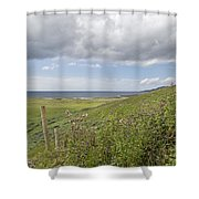Coastal Country Shower Curtain