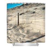 Coastal Dunes In Holland 3 Shower Curtain