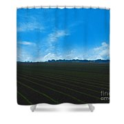 Coastal Farm Country Texas Shower Curtain