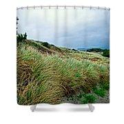 Coastal Flora, Oregon Shower Curtain
