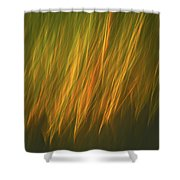 Coastal Grass Shower Curtain