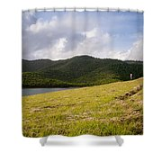 Coastal Hills Shower Curtain