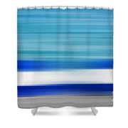 Coastal Horizon 2 Shower Curtain