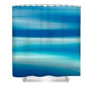 Coastal Horizon 7 Shower Curtain