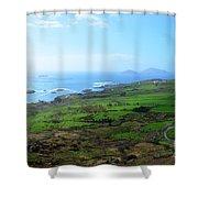 Coastal Ireland Shower Curtain
