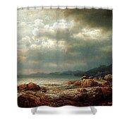 Coastal Landscape Shower Curtain