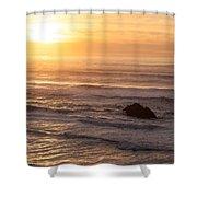 Coastal Rhythm Shower Curtain