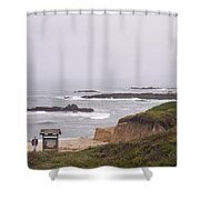 Coastal Scene 7 Shower Curtain