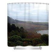 Coastal Seascape Shower Curtain