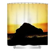 Coastal Sunset IIl Shower Curtain