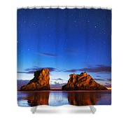 Coastal Twilight Shower Curtain