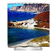 Coastal Vista  Shower Curtain