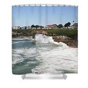 Coastline  Santa Cruz -  California Shower Curtain