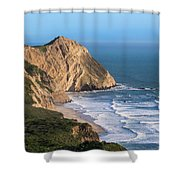 Coastline At Point Reyes National Sea Shower Curtain
