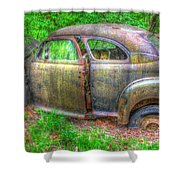 Coat Of Different Colors- Auto Personalities #3 Shower Curtain