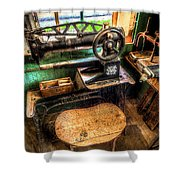 Cobblers Sewing Machine Shower Curtain