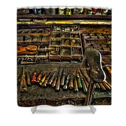 Cobblers Tools Shower Curtain