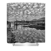 Cobblestone Sky Harbor Shower Curtain