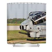 Cobra Cooldown Shower Curtain