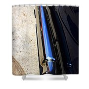 Car Tail Pipe Shower Curtain