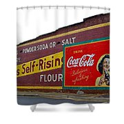 Coca Cola Advertisement Shower Curtain