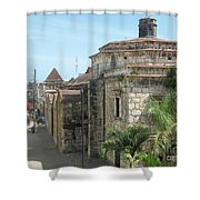 Coca Cola And The Catedral Number Two Shower Curtain