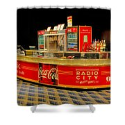 Coca Cola Shower Curtain