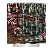 Coca Cola - Hecho En Mexico Shower Curtain
