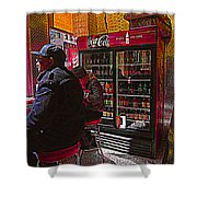 Coca Cola Lunch Shower Curtain