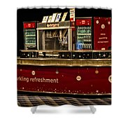 Coca Cola Refreshment Stand Shower Curtain