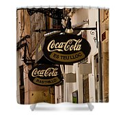 Coca-cola Shower Curtain