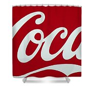Coca Shower Curtain