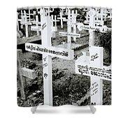 Cochin Cemetery  Shower Curtain