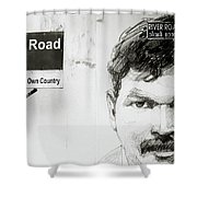 Street Art In Cochin Shower Curtain