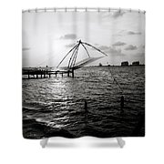 Dusk At Cochin Shower Curtain